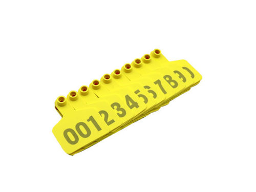 Yellow Cattle Tags