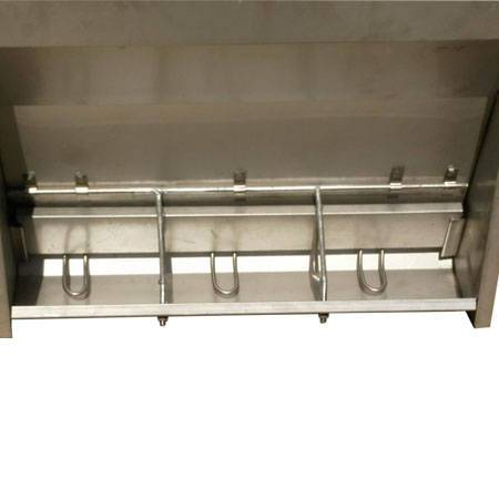 automatic pig stainless steel trough
