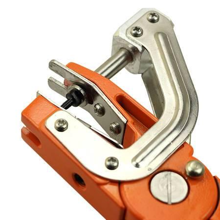 Rotatable Goat Pig Hog Cattle Ear Tag Animal Tool Plier Forcep Applicator