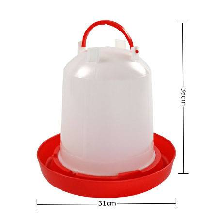 plastic ploutry drinker with handle