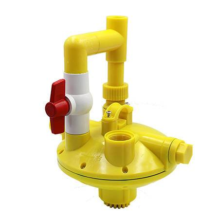 yellow poultry low pressure water regulator