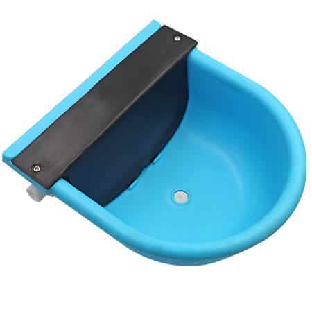 plastic blue auto calf cattle calf drinking bowl