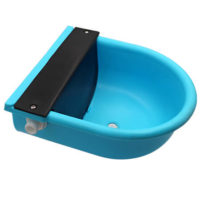 plastic blue auto calf cattle calf drinking bowl