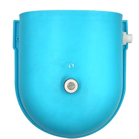 plastic blue calf drinking bowl