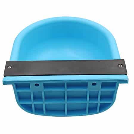 plastic blue calf drinking bowl