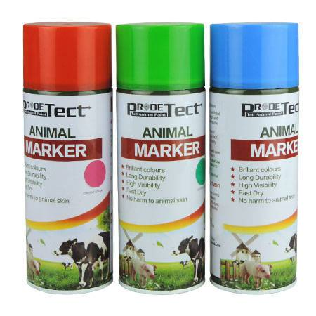 animal spray markers