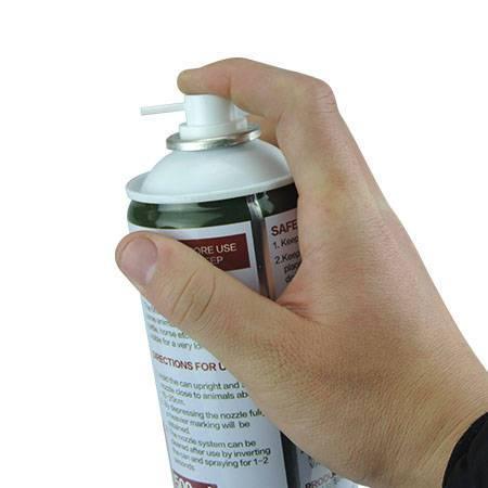 animal spray marker