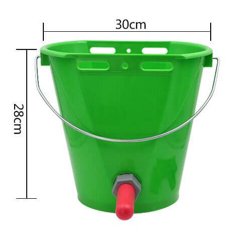 8L calf feeding bucket